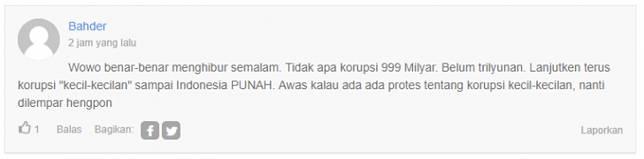 Sampai Indonesia punah eaaa!