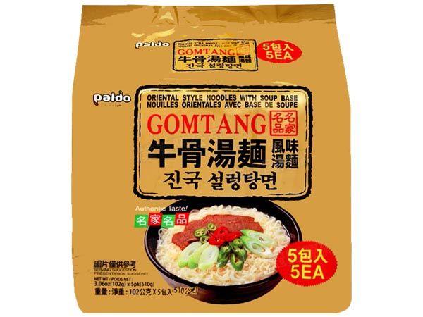 韓國 八道Paldo~牛骨湯麵(102gx5包)【D105144】團購/泡麵,還有更多的日韓美妝、海外保養品、零食都在小三美日,現在購買立即出貨給您。