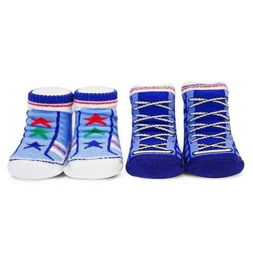 襪口舒適有彈性,不易鬆脫 襪底附造型止滑墊,呵護寶寶的小腳ㄚ