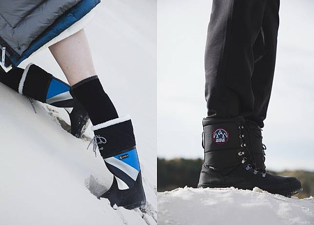 POLKA GIBOULEE Rubber Boots、ALBOEZ MTDSnow Boots(互聯網)