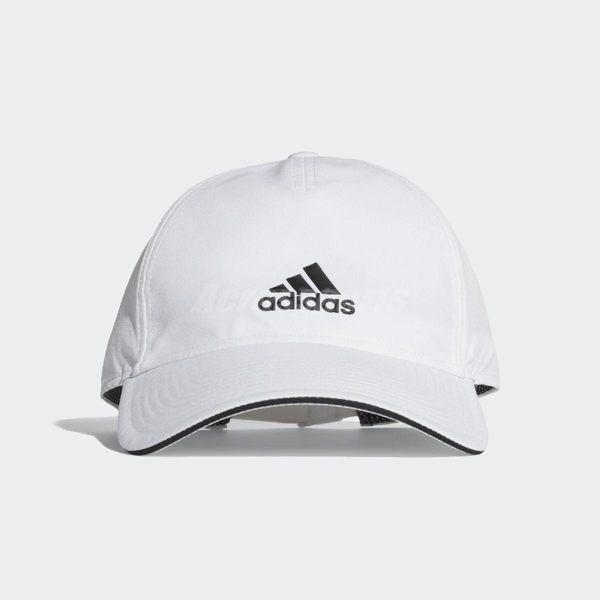 adidas 帽子 C40 5 Panels Climalite Cap 白 黑 男女款 老帽 【PUMP306】 CG1780