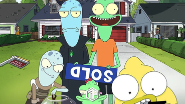 Rick and Morty 全新科幻動畫《Solar Opposites》預告發佈!