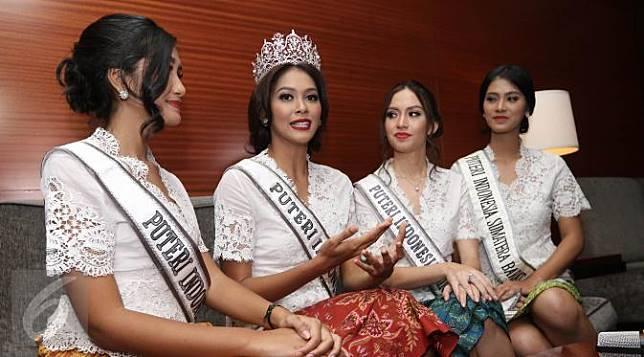 Dian Sastro Bikin Putri Indonesia 2017 Menangis