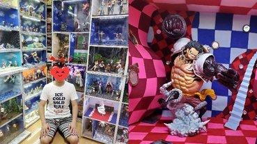 日本超狂《ONE PIECE》粉絲爸打造模型房,照片被兒子同學看見後「害怕阿宅身分很丟臉⋯」