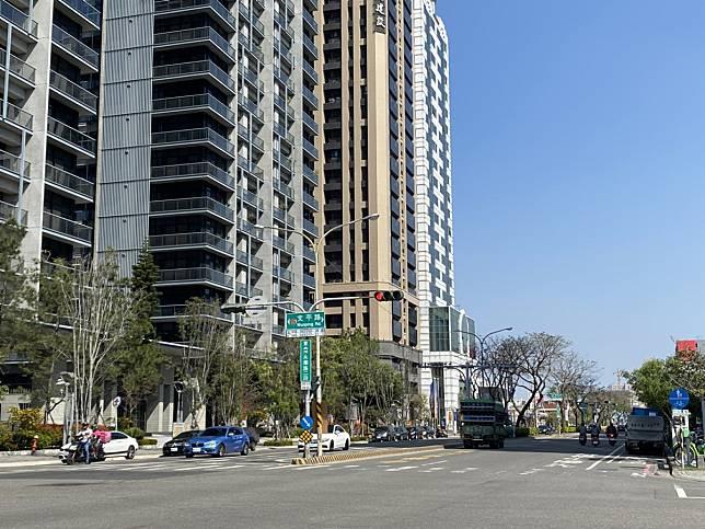台南市安平區永華路房屋總價多落在2000萬元以上,以致申貸金額較高。