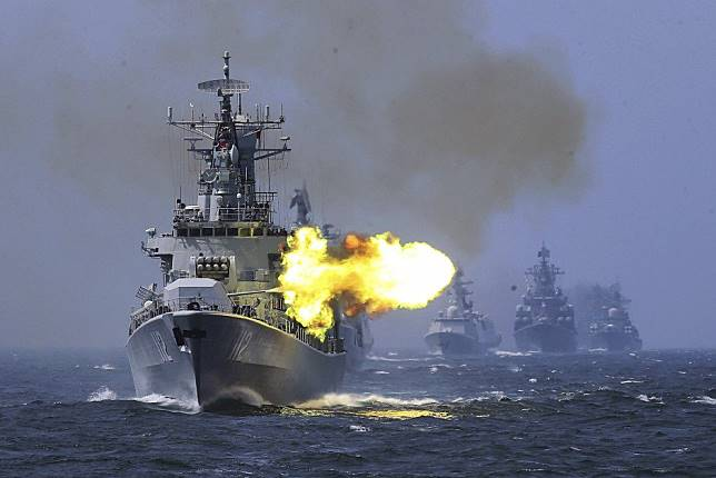 China tries to play down Taiwan Strait military exercises to avoid upsetting the US