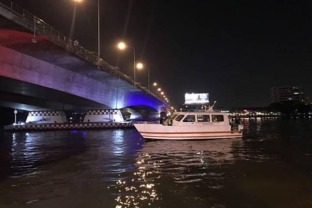 ระทึก!เรือด่วนเจ้าพระยา ชนกันใต้สะพานพระราม7เจ็บ1