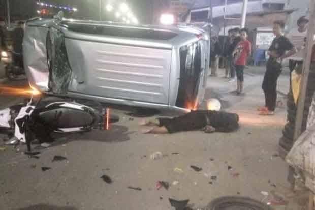 Diseruduk Avanza, Pengendara Motor Tewas di Jalan Raya Serpong