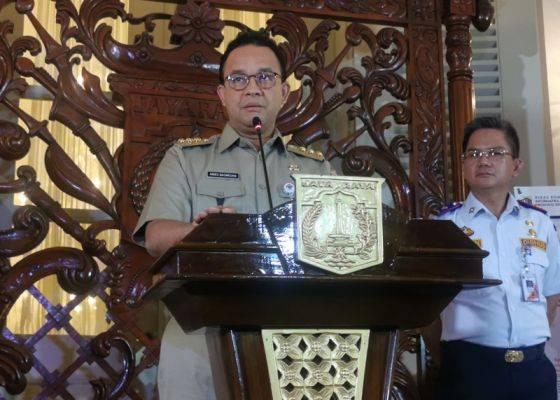 Gubernur DKI Jakarta, Annies Baswedan.