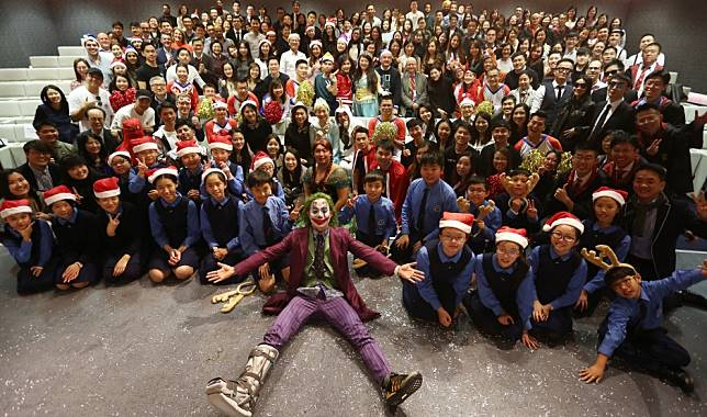 UBS staff brings festive cheer to charity beneficiaries in Hong Kong with Christmas party