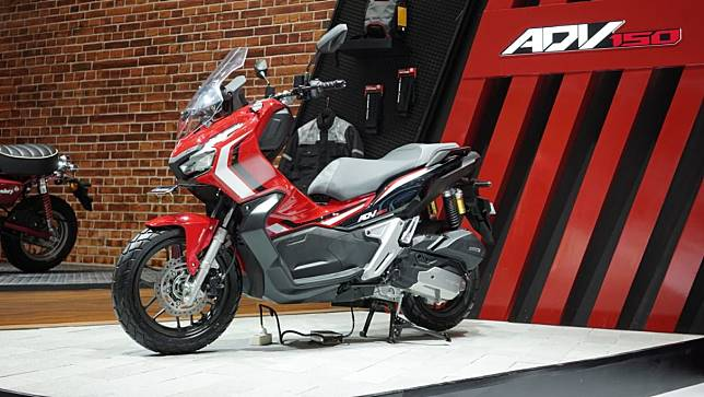 Honda ADV150 yang muncul di GIIAS 2019