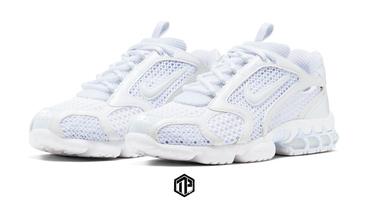 Nike Air Zoom Spiridon Cage 2「Triple White」曝光!
