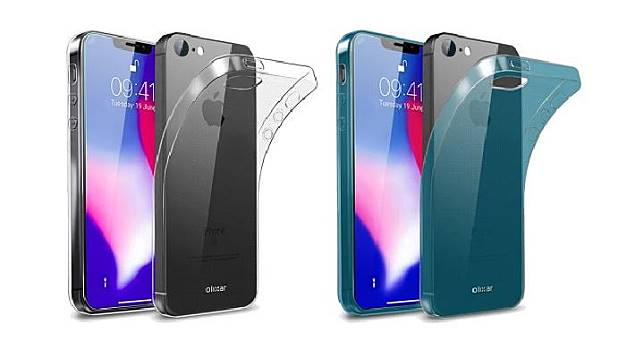 Perusahaan casing Olixar memperkenalkan casing iPhone SE2, pertengahan Mei 2018. Sejumlah pihak berpekulasi bentuk SE2. (dok.olixar)