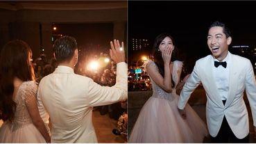 林志玲婚禮官方花絮影片曝光!萬頭鑽動宛如跨年演唱會 AKIRA淚謝「還要再來台南玩」