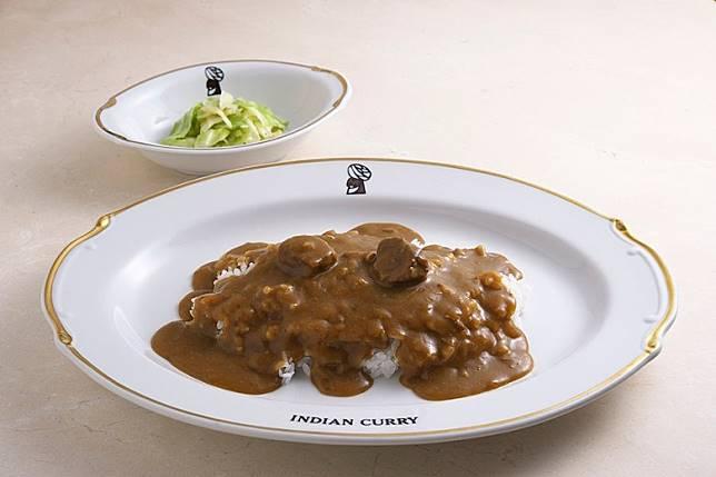 招牌咖喱飯Indian Curry,入口除了有日本咖喱獨特的甜味,亦有股刺激的辣味。(互聯網)