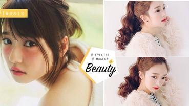 日妹子的秘密眼線的畫法~原來用這些開架彩妝就能畫出日本女生的無辜大眼了~