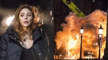 超期待!《復仇者聯盟 3: 無限之戰》玩驚人爆破 在街頭直接炸出三層樓火花!