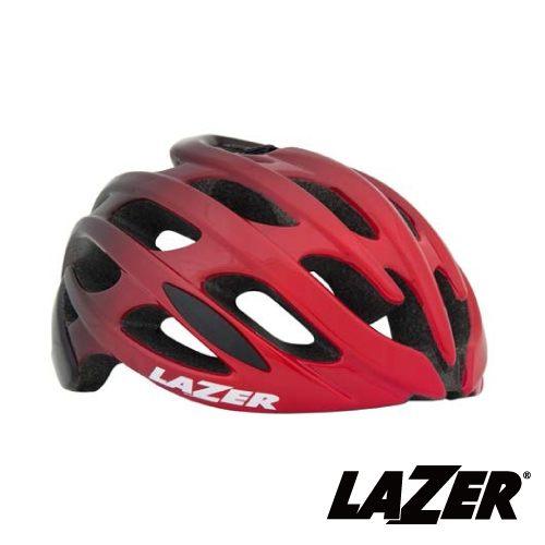 《LAZER》比利時 BLADE AF公路車安全帽 黑紅漸層 (亞洲版)