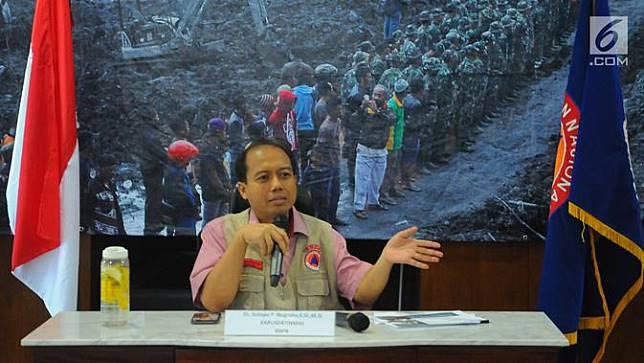 Kepala Pusat Data dan Informasi BNPB Sutopo Purwo Nugroho