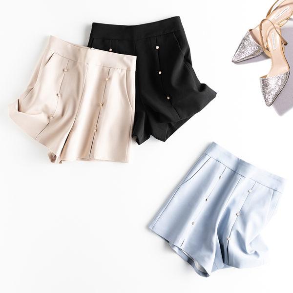 時尚簡約瘦腿百搭女西裝短褲 熱褲 休閒褲18