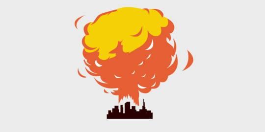 Terjadi Ledakan Besar di Beirut Lebanon   Merdeka.com   LINE TODAY