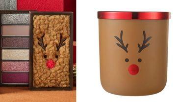 ETUDE HOUSE聖誕節賣萌!魯道夫麋鹿直接變成毛茸茸眼盤、香氛蠟燭,可愛指數破表