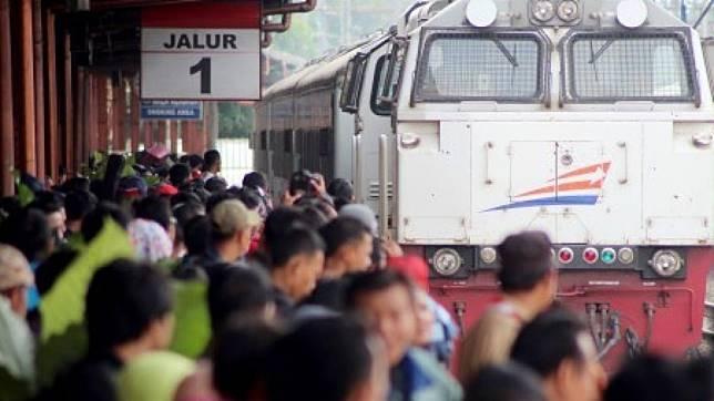Kapan tiket kereta api tambahan lebaran 2020 dibuka