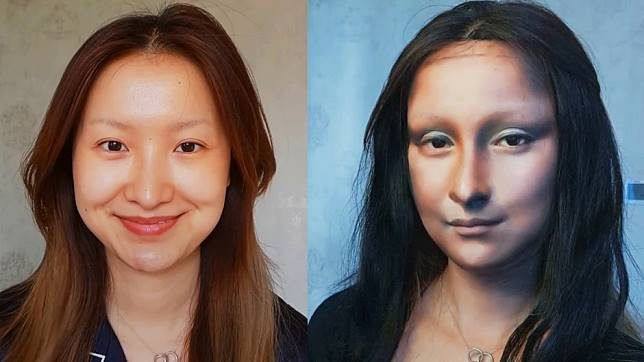 Meet the Chinese makeup artist who can transform into anyone, even the Mona Lisa