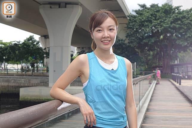 adidas Running Coach李莉Lily Lee(胡振文攝)