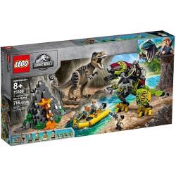 LEGO樂高積木 - 侏儸紀系列 75938 T. rex vs Dino-Mech Battle