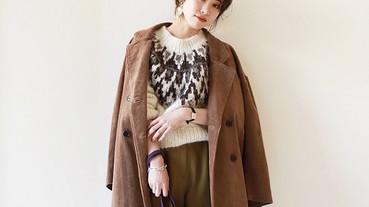 日本街頭出鏡率超高「北歐風毛衣」,必搭的4款單品詮釋冬季Look!
