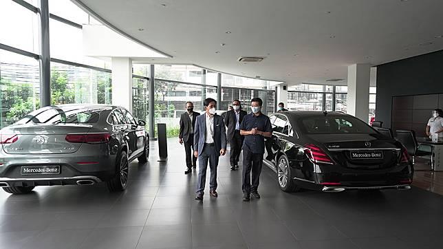 Kembali Dibuka, Diler Mercedes-Benz Terapkan Prosedur Kesehatan