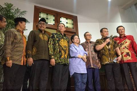 Temui Megawati, MPR Semakin Mantap Amandemen UUD 1945