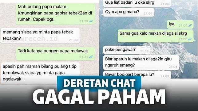 12 Chat Gagal Paham Ini Ujung Ujungnya Bikin Ngakak Keepo Me Line Today