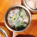 海老とニラ蒸し餃子 - 実際訪問したユーザーが直接撮影して投稿した代々木点心・飲茶ティム・ホー・ワン 新宿サザンテラス店の写真のメニュー情報