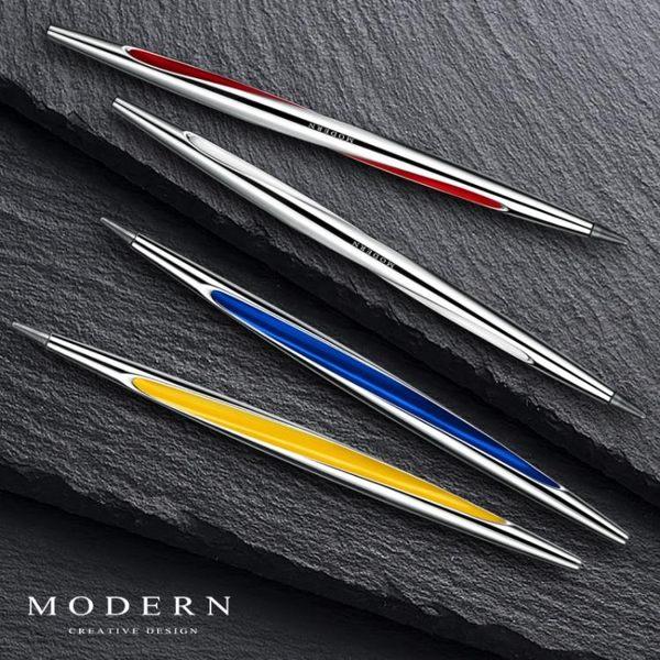 米蘭 德國Modern創意無墨老不死金屬永恒筆 betapen不用加墨水鋼筆禮物