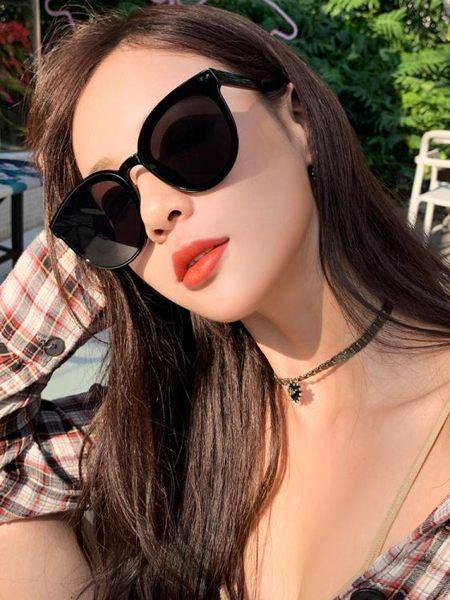 太陽眼鏡 太陽眼鏡網紅款墨鏡女2019新款GM韓版潮街拍ins偏光防紫外線時尚 茱莉亞