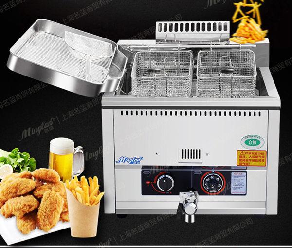 電炸爐電炸鍋炸雞排大容量炸雞爐雞排專用