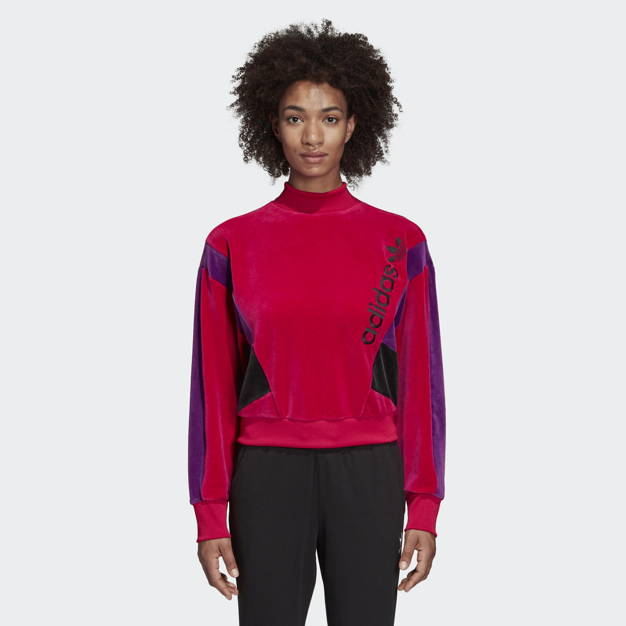 國際尺寸 寬鬆型剪裁,舒適休閒 羅紋圓領 長袖;羅紋袖口 76%棉 / 21%聚酯纖維 / 3%氨綸 羅紋下擺