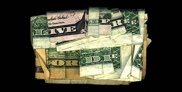 5 Pesan Tersembunyi dari Lipatan Uang di Dalam Bill Restoran, Coba Tebak!