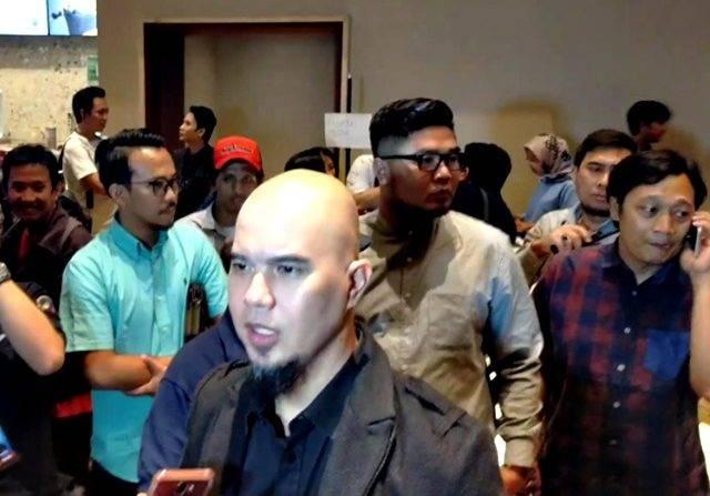 Ajak Mulan Jameela Nonton, Ahmad Dhani Penasaran dengan Akting Al