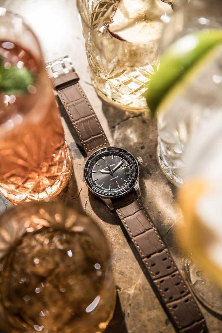 HAMILTON「Khaki Aviation」系列2020新款腕錶。(圖╱HAMILTON提供)