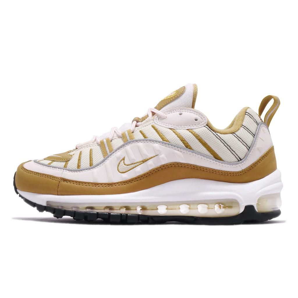 Nike Air Max 98 Phantom 米白 咖啡 氣墊 女鞋 運動鞋 AH6799-003 【ACS】