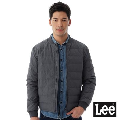 Lee URBAN RIDERS夜間反光羽絨外套90%羽絨-男款-灰色