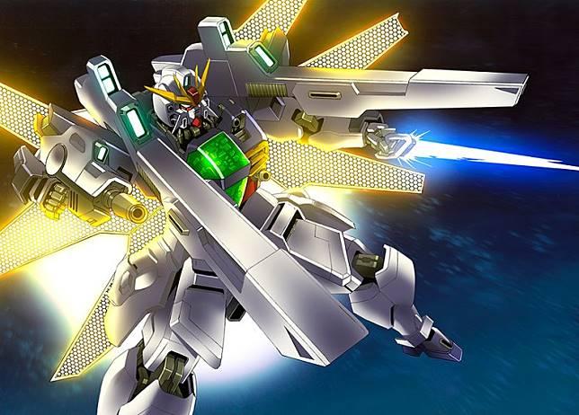 高達DX的月光炮威力,足可擊毀植民衛星,但跟月光蝶相比也只能算玩具。(互聯網)