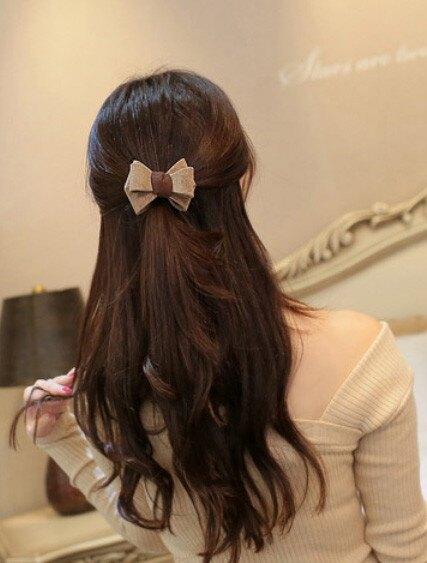 韓國立體蝴蝶結髮飾 蝴蝶結髮束 髮圈