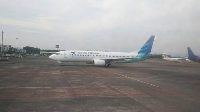 Ilustrasi maskapai Garuda Indonesia. (Dok : Kemenpar)