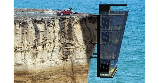 掛在崖邊的透天,簡直就是人類燕窩…