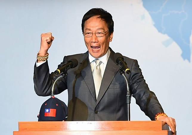 針對蔡英文總統今日的回應批評 郭台銘回應了