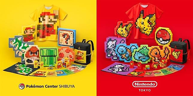 店內有與Nintendo TOKYO聯乘的特別商品售賣,必買之選!(互聯網)